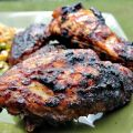 Chicken Wings With Bourbon-Molasses Glaze