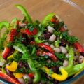 Aromatic three bean salad Recipe