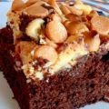 Butterscotch Cream Cheese Brownies