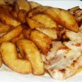 Grilled Pork Chops With Vanilla-Scented Apples