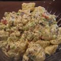 Potato Salad With Roasted Red Peppers and Bacon