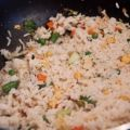 Fried Rice With Bacon (Oriental Style)