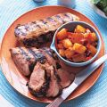 Grilled Pork Loin with Fire-Roasted Pineapple[...]