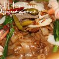 Fried Hor Fun- Fried Flat Rice Noodles