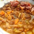 Beans with smoked pork hock Recipe