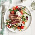 Grilled Tuna Over Green Bean, Tomato, and[...]