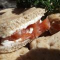 Smoked Salmon and Cream Cheese Sandwiches Recipe