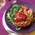 Grilled Pork Chops with Plum Chutney
