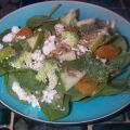 Spinach Salad With Gorgonzola Cheese