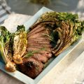 Grilled Leg of Lamb with Curly Endive and[...]