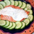 Grilled Salmon With Chive and Dill Sauce and[...]