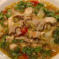 Spicy Chicken Vegetable Soup