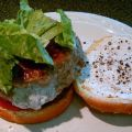 Goat Cheese Turkey Burgers