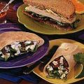 Smoked Turkey Sandwiches with Orange Cranberry[...]