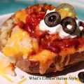 Guinness Chili Loaded Baked Potato Recipe
