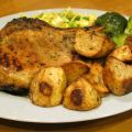 Grilled Pork Chops With Herb Rub