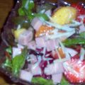Ham and Fruit Salad