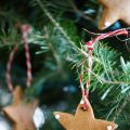 DIY Gingerbread Tree Ornaments