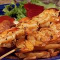 Grilled Shrimp With Garlic & Herbs