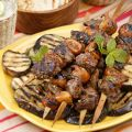 Grilled Lamb and Fig Skewers with Mint-Pepper[...]