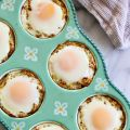 Baked Eggs in Spaghetti Squash Nests