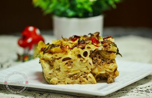 Recipe Baked Macaroni Makaroni Bakar