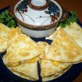 Caribbean Chicken Quesadillas
