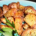 Roasted New Potatoes, Middle Eastern Style