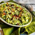 Brussels Sprouts Salad with Bacon, Dried[...]