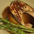 Grilled Salmon and Asparagus With Balsamic[...]