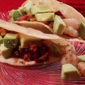 Shrimp Tacos With Warm Corn Salsa