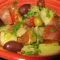 Potato Salad With Olives and Peppers