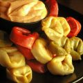Tortellini With Roasted Garlic Sauce (Appetizer)