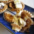 Caramelized Onion and Brie Tarts