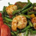 Spicy Shrimp With Green Beans & Red Pepper