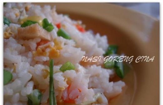 Recipe Nasi Goreng Cina