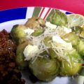 Brussels Sprouts With Lemon & Parmesan