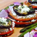 Grilled Eggplant Stacks With Goat Cheese,[...]