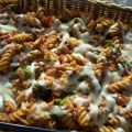 Baked Penne With Broccoli and Three Cheeses