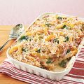 Baked Penne with Ham and Broccoli