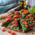 Pesto Pizza Loaf