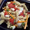 Pasta Salad W/Feta and Cherry Tomatoes
