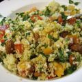 Couscous Salad With Almonds and Feta