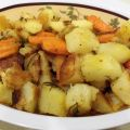Roasted Potatoes, Parsnips and Carrots