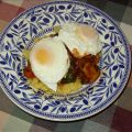 Polenta and Poached Eggs With Spinach and[...]