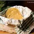 Corn Tortillas made with Yellow cornmeal flour[...]