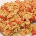 Scrambled Eggs and Capsicum