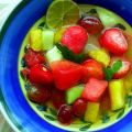 Fruit Salad With Pepper (Yes Pepper) Dressing