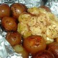 Roasted Garlic Heads and New Potatoes With[...]