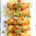 Baked Shrimp Taquitos